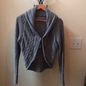 Izod Cable Knit Cardigan